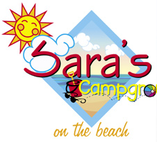 Sara's Campground ... on the beach