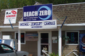 Beach Zero Souvineer Shop at Sara's Campground, Erie, Pennsylvania.